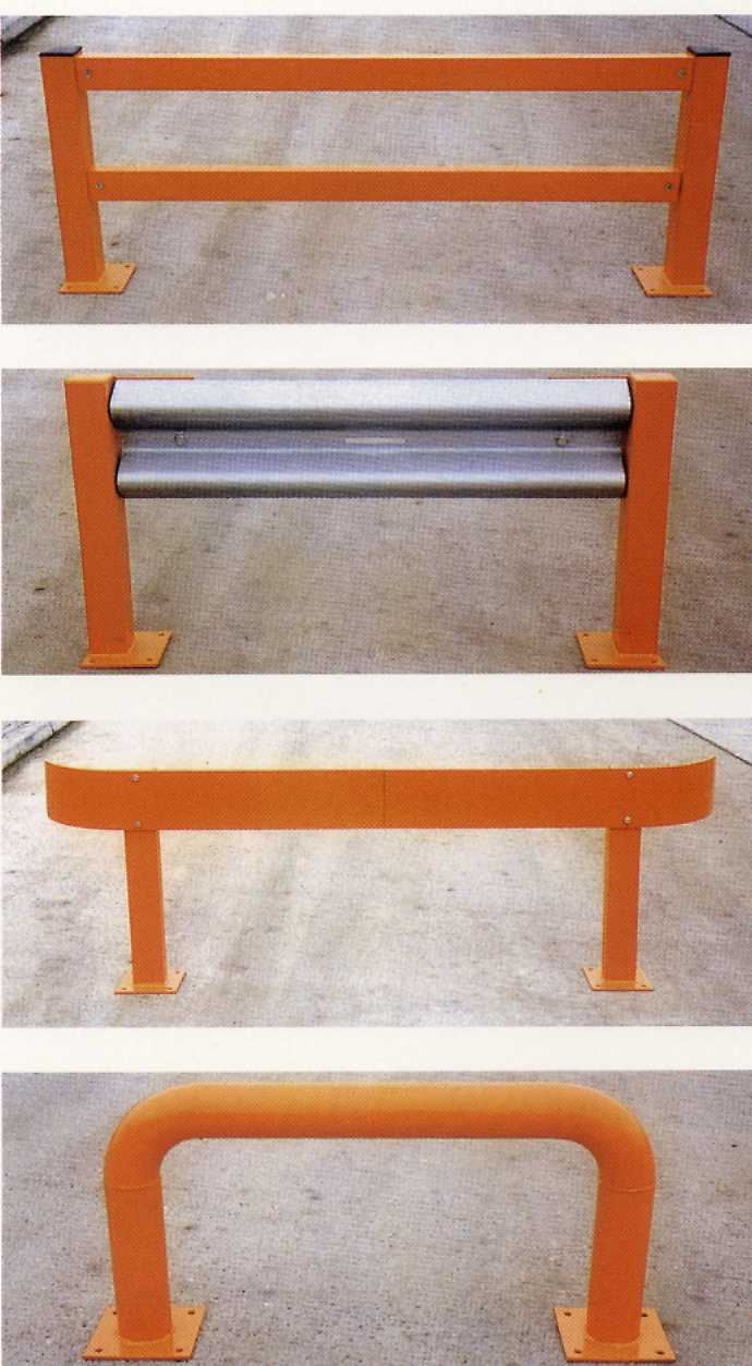 Pallet Racking Barriers Rack Protection End Of Rack